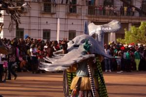 Masque de Poisson-scie, Carnaval de Bissau (Jung, 2013)
